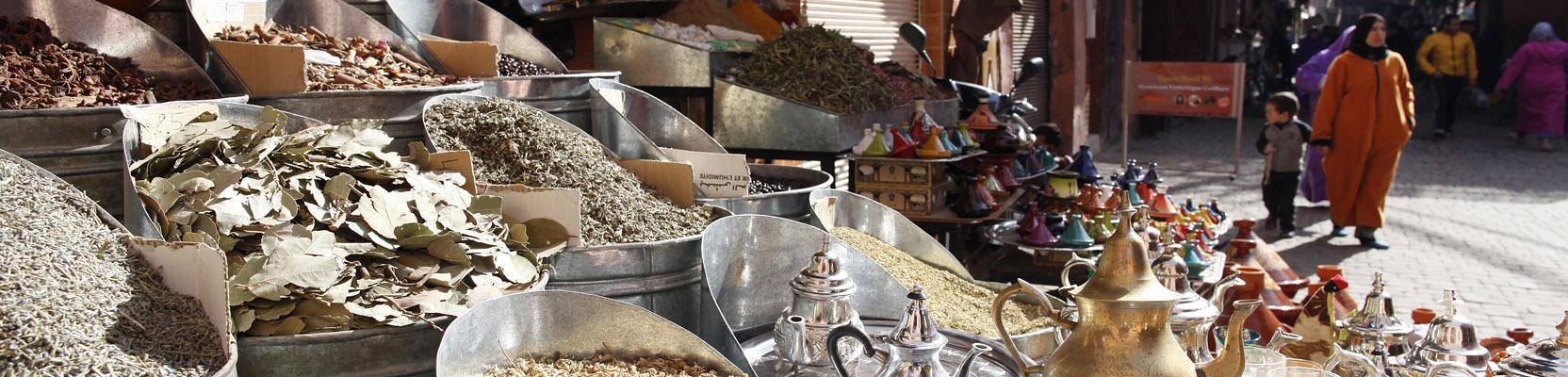 Souk Marrakesch Marokko
