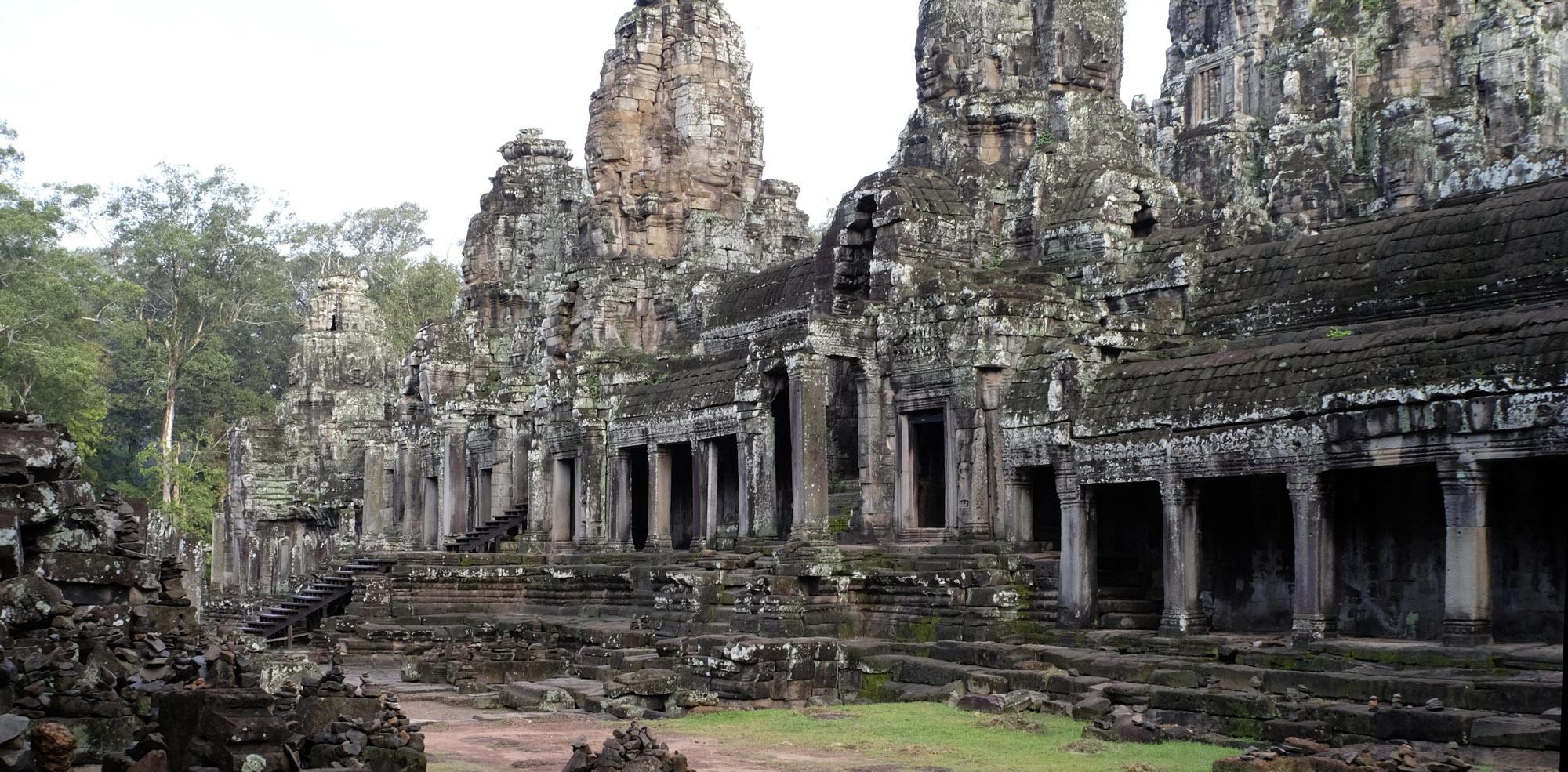 reise-ansichten Angkor Tom Baron
