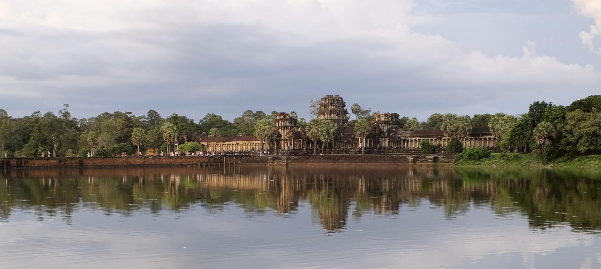 reise-ansichten Angkor Wat Außenansicht