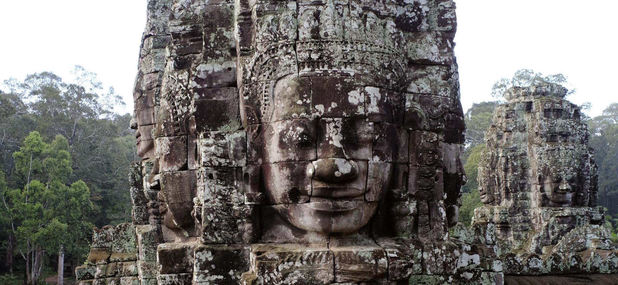 reise-ansichten Gesicht Bayon Angkor