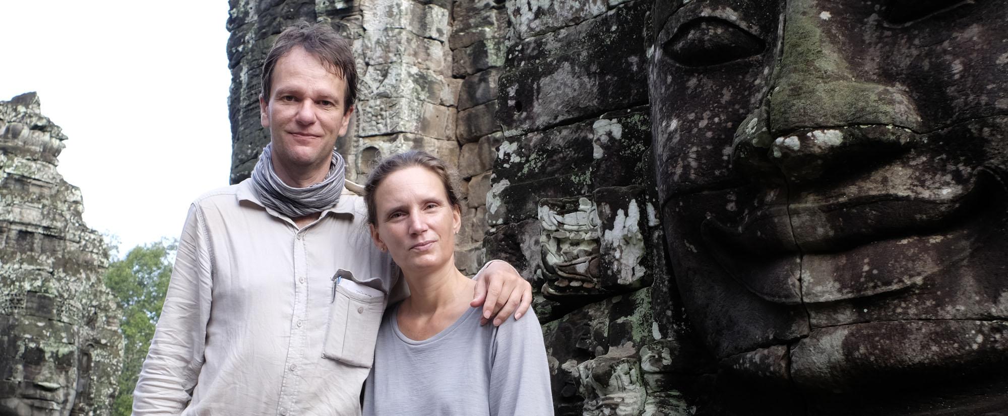 reise-ansichten wir in Angkor