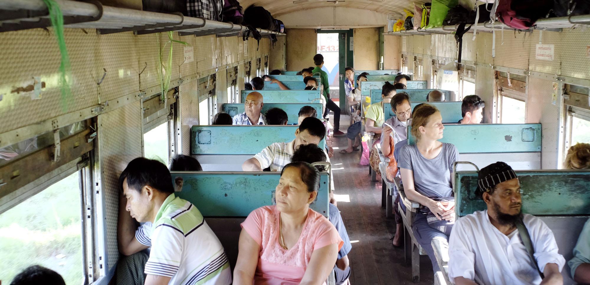 reise-ansichten Bahn Myanmar