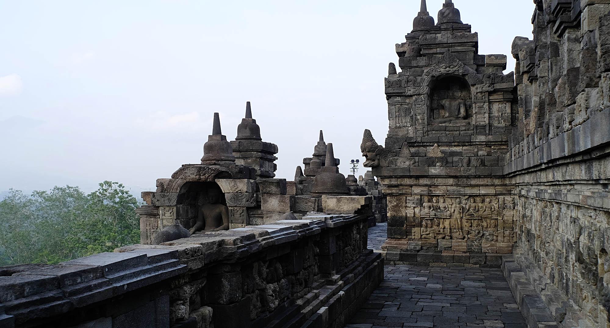 reise-ansichten Borobudur Relief