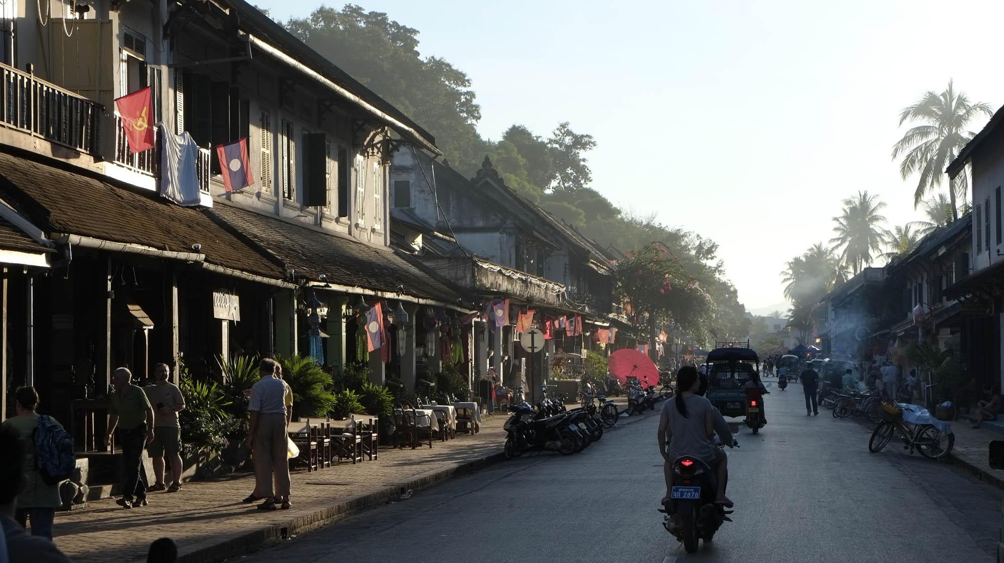 reise-ansichten Luang Prabang