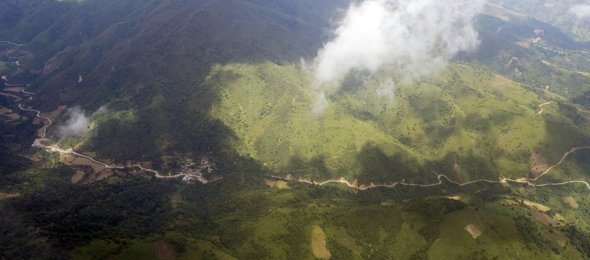 reise-ansichten Luftbild Shan State