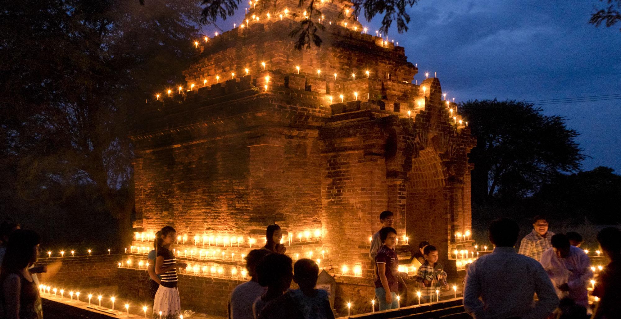 reise-ansichten Thadingyut Bagan