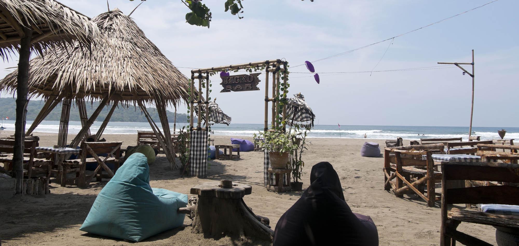 reise-ansichten Pangandaran Strand