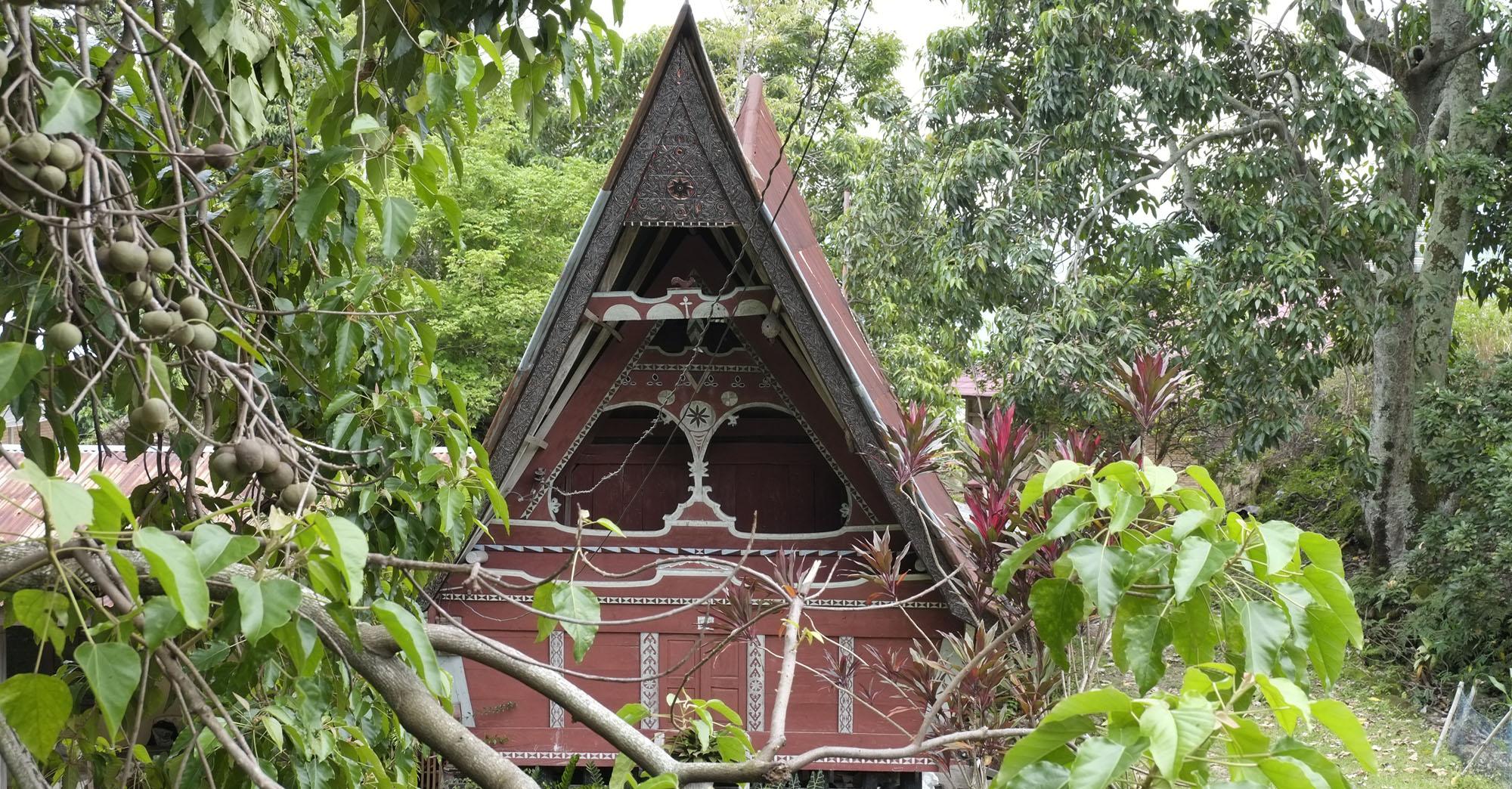 reise-ansichten Batak Haus