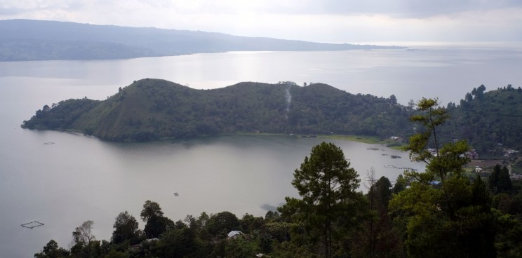 reise-ansichten Lake Toba
