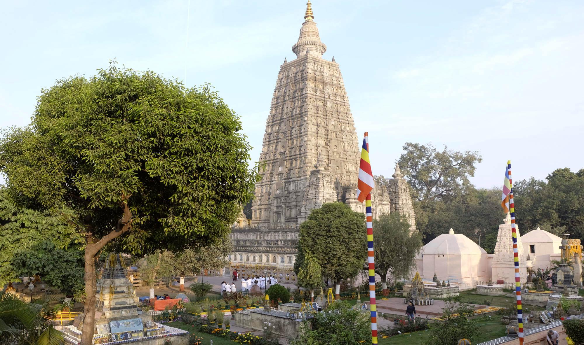 reise-ansichten Bodhgaya Mahabodhi