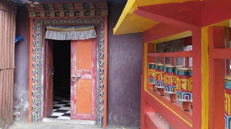 reise-ansichten Darjeeling Gompa