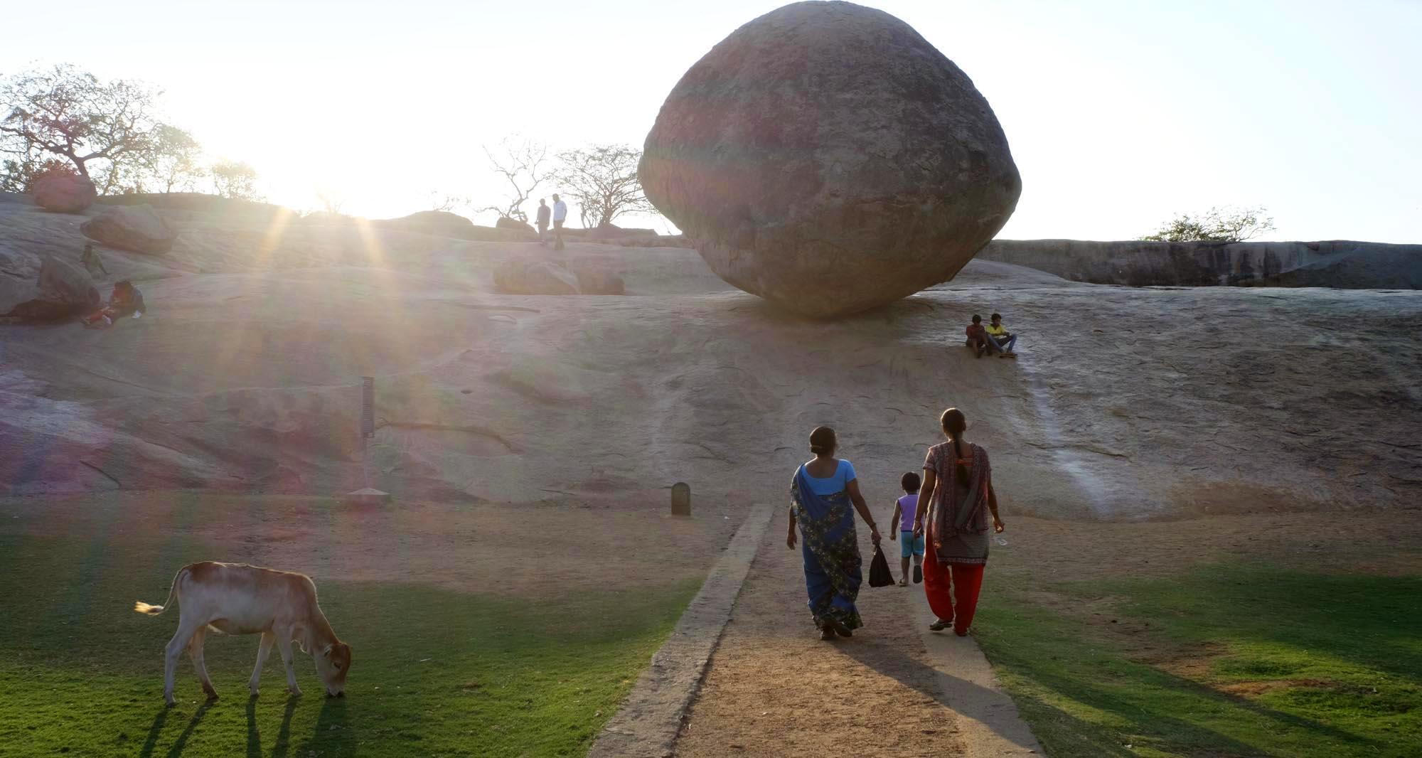 reise-ansichten Tempel Mamallapuram