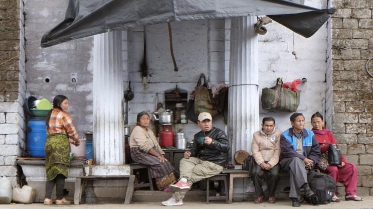 reise-ansichten Darjeeling Chowrasta