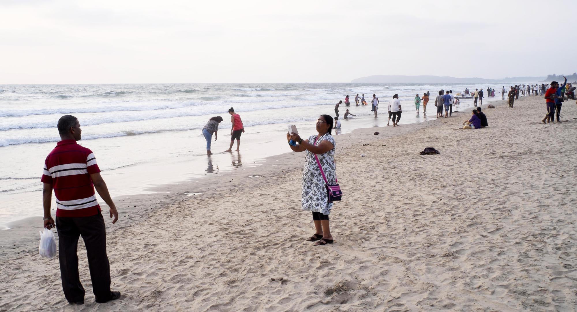 reise-ansichten Ganpatipule Strand