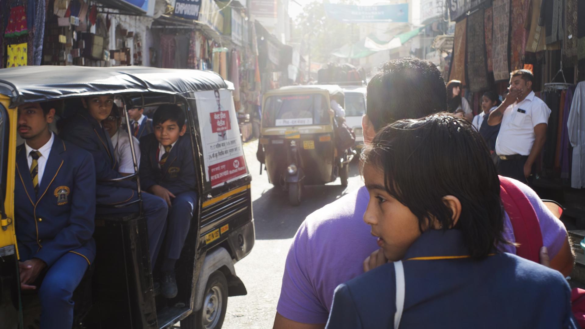 Indischer Verkehr reise-ansichten