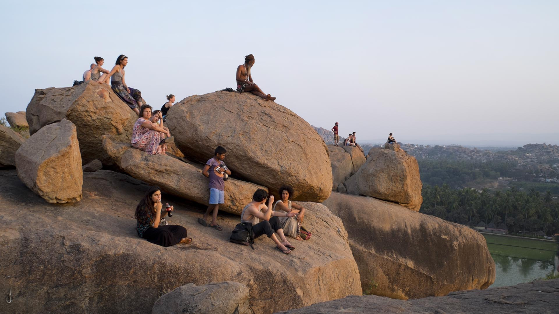 reise-ansichten hampi sunset point