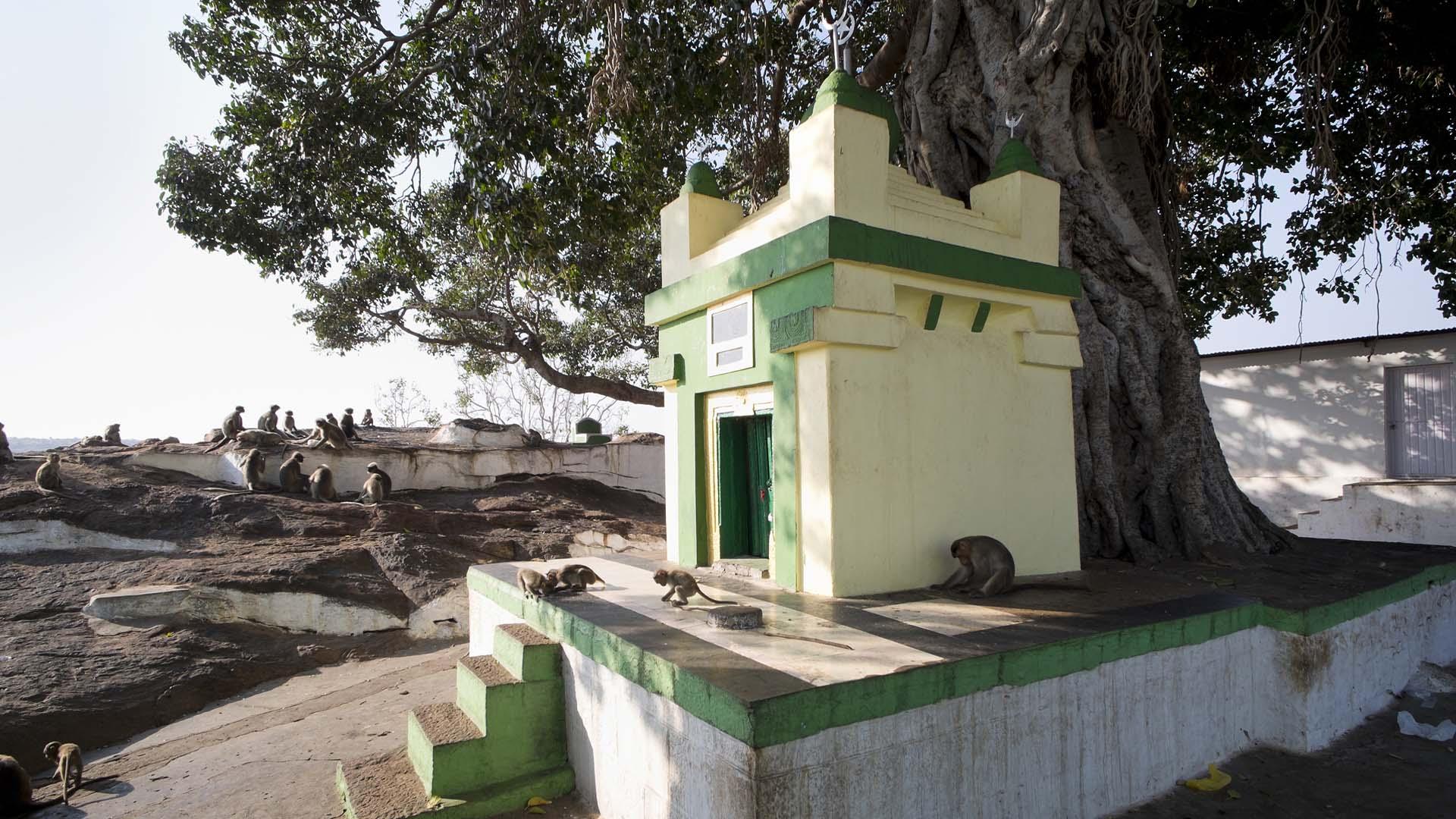 reise-ansichten hindu muslim tempel