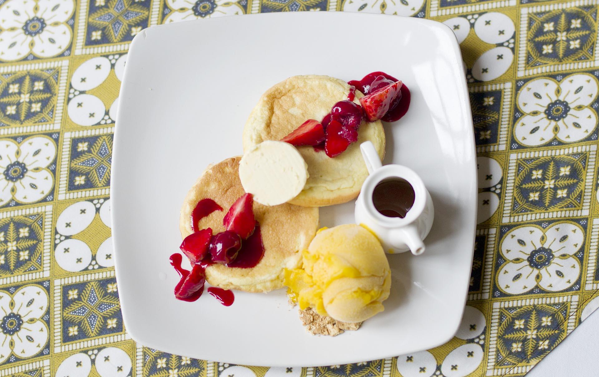Pancakes (Caffee Batavia, Jakarta)