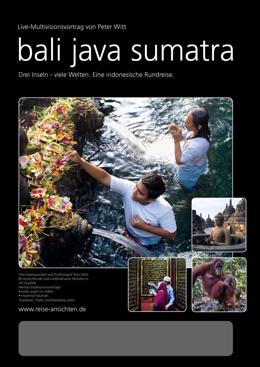 bali java sumatra multivisionsvortrag